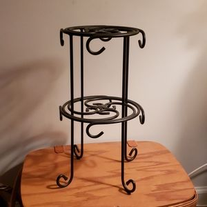 Longaberger Wrought Iron Coffee cup Stand